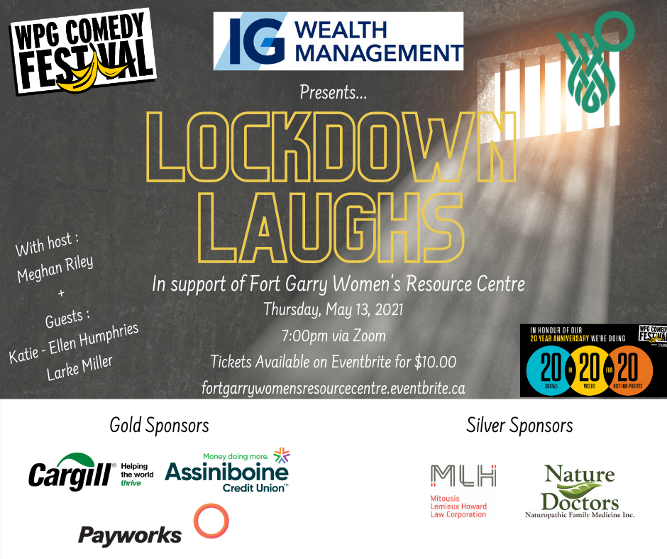 Lockdown Laughs Poster
